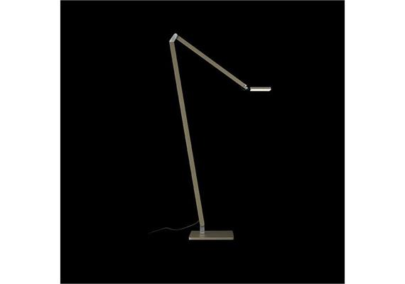 Steh-Leseleuchte Roxxane HOME silber 230V LED 7.5W 413lm 2700K 1083x620mm