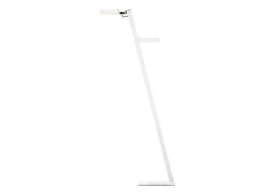 Steh-Leseleuchte Roxxane LEGGERA 101 CL weiss 230V LED6.5W 2700°K 25-800lm IP20 CRI90
