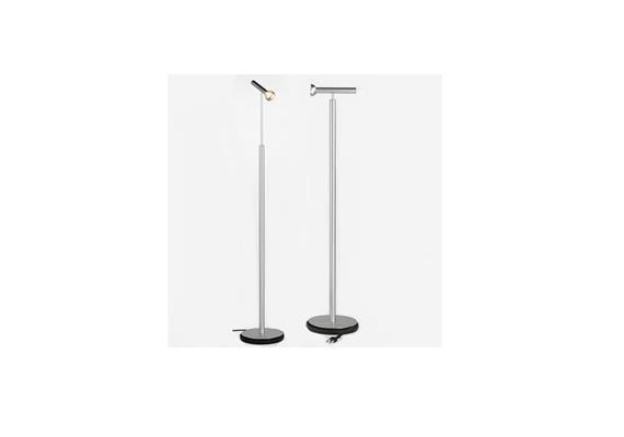 Steh-Leseleuchte Topoled S 10W LED bronze elox.  230V/ Höhenverstellbar / 2700°K/ 760lm