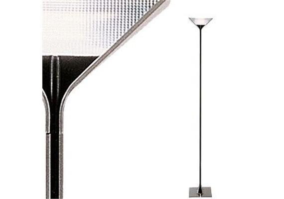 Stehleuchte Papillona silber-schwarz  1x300 R7s /240V H=192 b=26 dimmbar