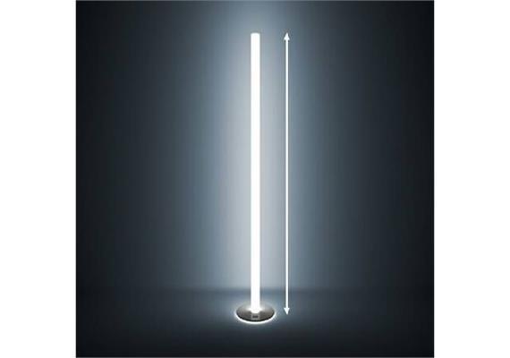 Stehleuchte Steleo LED 54W Acrylglas opal glanz  230V/ 54W 2700°K 2800lm H=1845 D=24cm