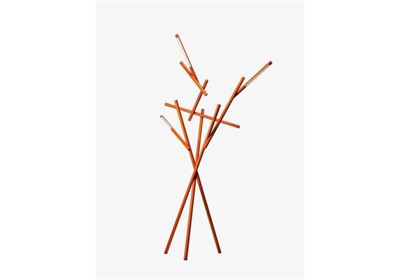 Stehleuchte Tuareg LED 54W 3000°K orange  240V H=209 T=78 B=112cm