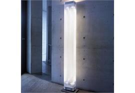 Stehleuchte Twilight-01 Kunstglas chrom dim. 4xPar16 50W GU10 25° + 1x230 R7s  H=1880