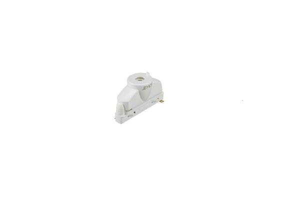 Stromschiene Adapter 10kg 1Phase Strahler weiss  16A, 250V, Belastung 10kg