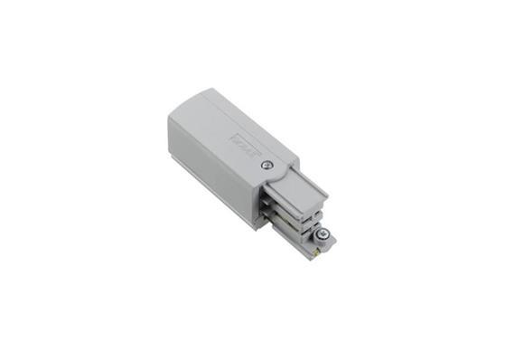 Stromschiene-Einspeisung 3Ph rechts silber L=66