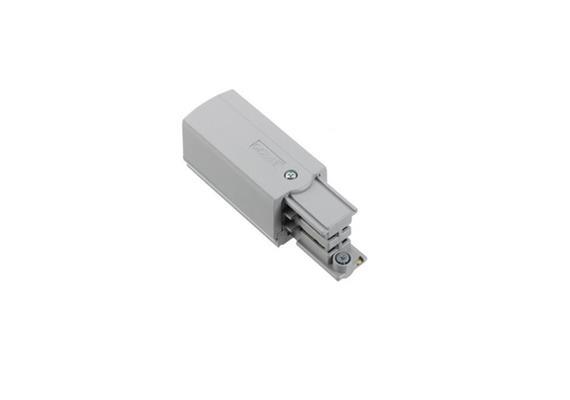 Stromschiene-Einspeisung 3Ph silber  L=66