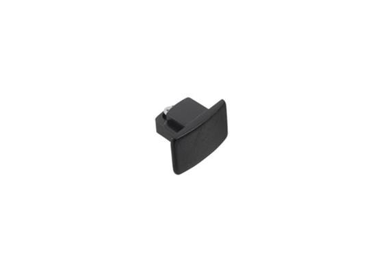 Stromschiene Endkappe für 1Phase schwarz