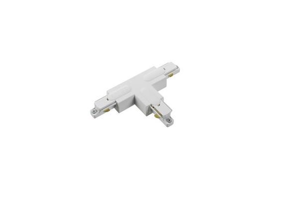Stromschiene T-Verbinder 1Phase silbergrau