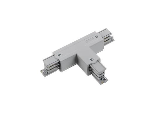 Stromschiene T-Verbinder 3Ph silber