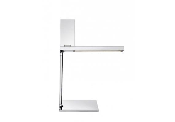 Tischleuchte D'E-light (30 pin) chrom 5W, 2700K,299lm, h=317mm Fuss 120mm