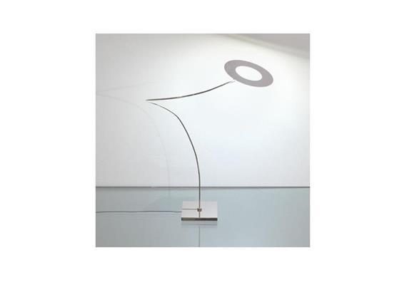 Tischleuchte GIULIETTA Tavolo Nickel glanz 230V 4,8W LED 2900°K 282lm inkl.Dimmer