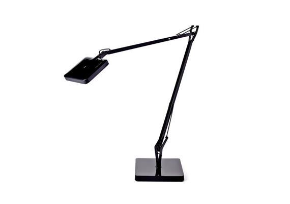 Tischleuchte Kelvin LED basis glanz schwarz 30 TOP LED 3000 K/ 7.5W 325lm H=480mm L=581mm