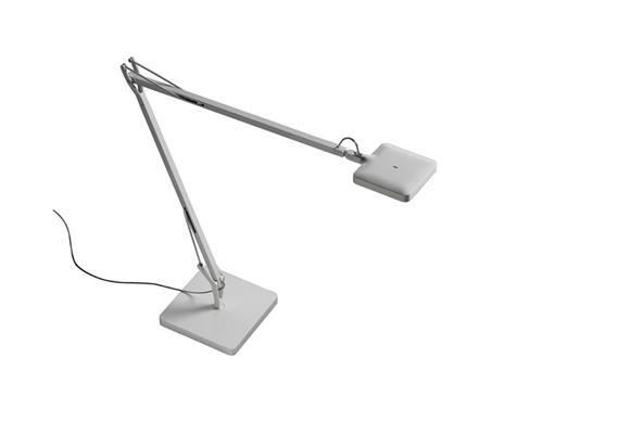 Tischleuchte Kelvin LED basis weiss 30 TOP LED 7.5W 3000 K 325lm / H=480mm L=581mm