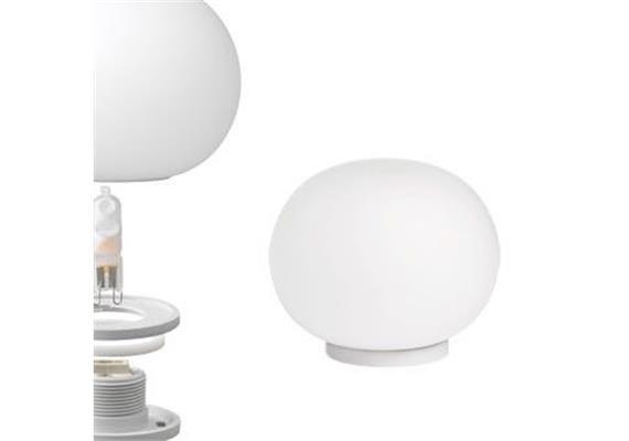 Tischleuchte Mini GLO-BALL T  max. 1x20W G9 on/off / D=11.2cm/H=9cm