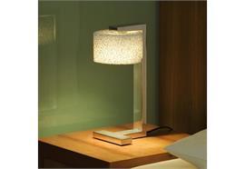 Tischleuchte REEF LED 6W 2700K alu poliert  240V/ 680lm H=30cm D=12cm