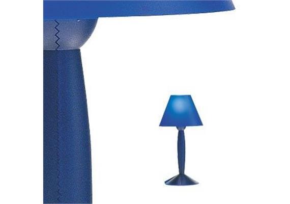 Tischleuchte Sissi blau 1x 60 W E14
