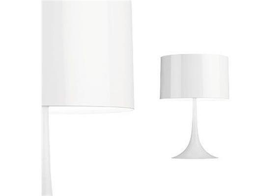 Tischleuchte SPUN Light T1 Weiss glänzend 230VE27 1x 150W dimmbar D=390 H=575