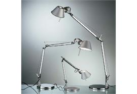 Tischleuchte Tolomeo Micro LED aluminium H=730 Aul.= 450 LED 8W 2700°K 461lm