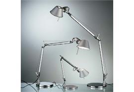 Tischleuchte Tolomeo Micro LED aluminium H=730 Aul.= 450 LED 8W 3000°K 365lm