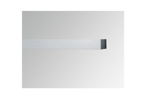 Wallwasher 90° Alu matteleoxiert  L=1500H=34mm B=35mm für Spina quick