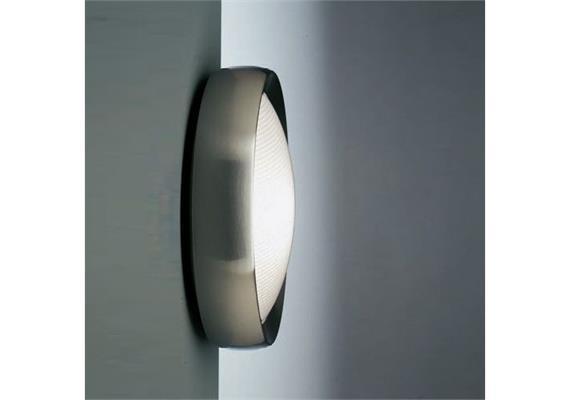 Wand-Deckenleuchte Niki Polycarbonat LED 220/240V14W 4000°K D=312 H=98 IP65
