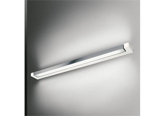 Wandleuchte ARA LED 69 weiss/chrom  230V 2xLED 16+16W/2700°K/2100+2100lm
