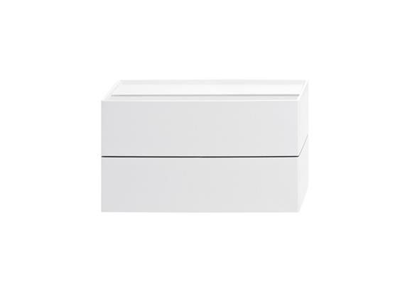 Wandleuchte CUBO LED 11W 2700°K Weiss 230V/ 2x600lm/ L=166mm H=94mm T=54mm IP20