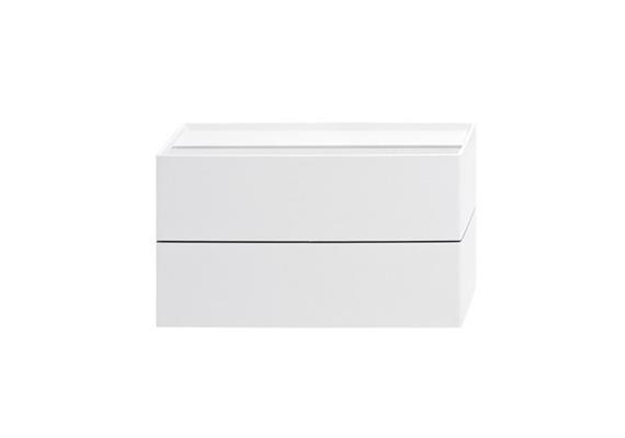 Wandleuchte CUBO LED 11W 2700°K Weiss 230V/ 2x750lm/ L=166mm H=94mm T=54mm IP20