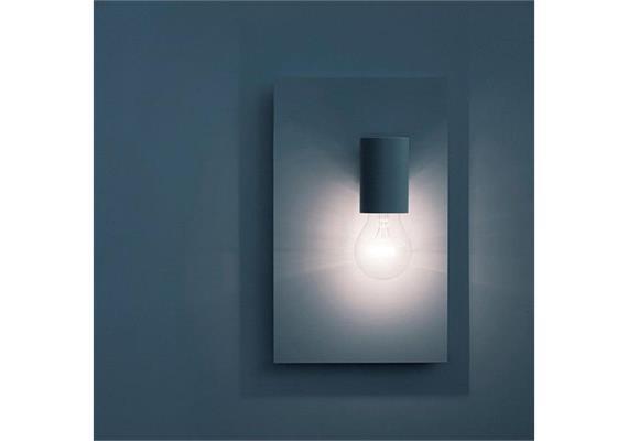 Wandleuchte Edivad E27 weiss matt 230V E27 6.5W LED B=183 H=297mm