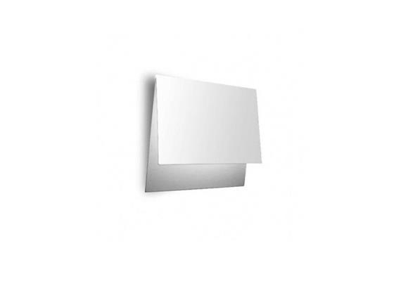 Wandleuchte Folder LED 18W 3000K weissmatt 230V 416lm dimmbar DALI/1-10V/PUSH