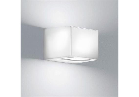 Wandleuchte GAP Q LED 12W weiss 240V 3000K 660lm Up/Down IP65