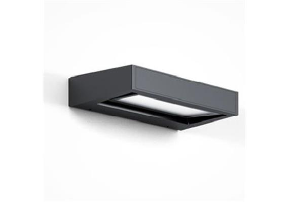 Wandleuchte GAP X LED 12W anthrazit 240V 3000K 660lm Up/Down IP65