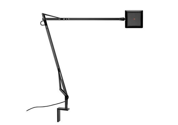 Wandleuchte Kelvin LED 7.5W 3000K schwarz 230V 7.5W 480x581mm Kopf=100x100mm