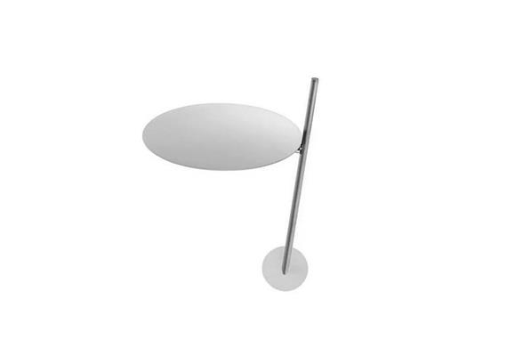 Wandleuchte Lederam WB1 LED 17W/2700°K Weiss/Satin 230V/1700 lm H=25 base 7x2,5 cm