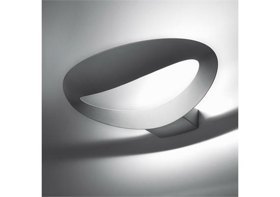 Wandleuchte Mesmeri LED silber 230V/ 28W 3000°K ww 1997lm