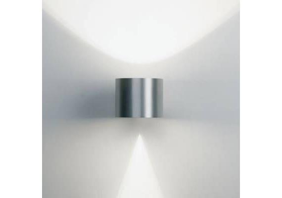 Wandleuchte Orbit alu 230V/G9 max.40-75W T=145 H=80 D=100