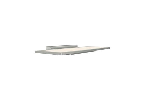 Wandleuchte Oviso OLED 5W 3000°K grau métallisé 230V/ 210lm L=330x120mm IP20