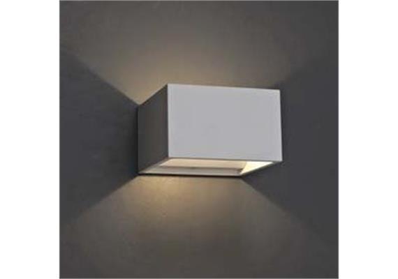 Wandleuchte Qubit W LED 4.2W 2700°K weiss 230V/24V/350mA DC / H=58 B=102 T=102