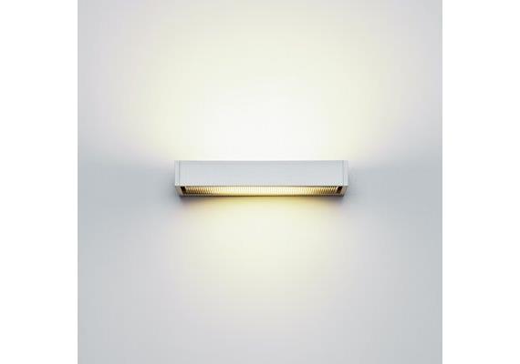 Wandleuchte SML LED M 15W silber satinée/satiné 240V LED 2700K 1500lm L=220/T=85/H=25