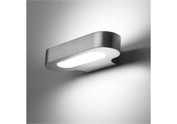 Wandleuchte Talo parete LED silber 230V 20W 2700K 1343lm L=210 H=42 T=100 IP20