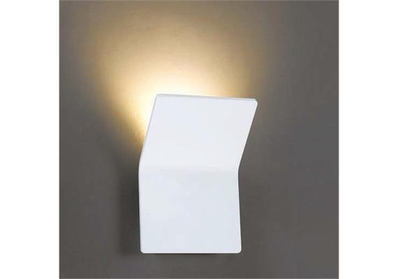 Wandleuchte Vega LED 6.6W2700°K weiss 230V/24V/350mA DC/H=175 B=125 T=32