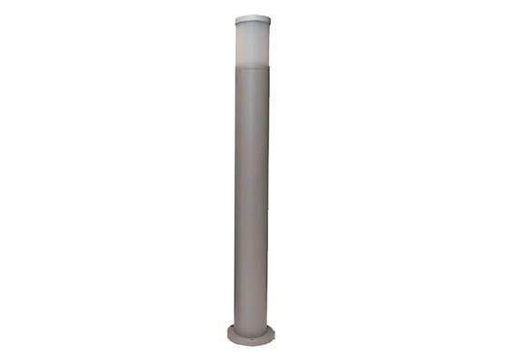 Wegleuchte Cilindro 110 silber 230V/E27/1x 60W/ H=1000mm D=108mm IP65