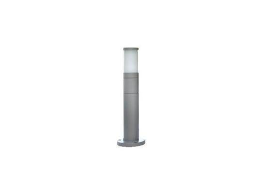 Wegleuchte Cilindro 65 dunkel grau 230V/E27/1x 60W/ H=400mm D=65mm IP65