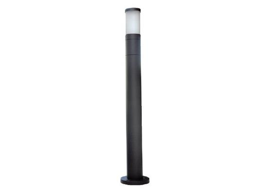 Wegleuchte Cilindro 65 silber 230V/E27/1x 60W/ H= 700mm D=65mm IP65