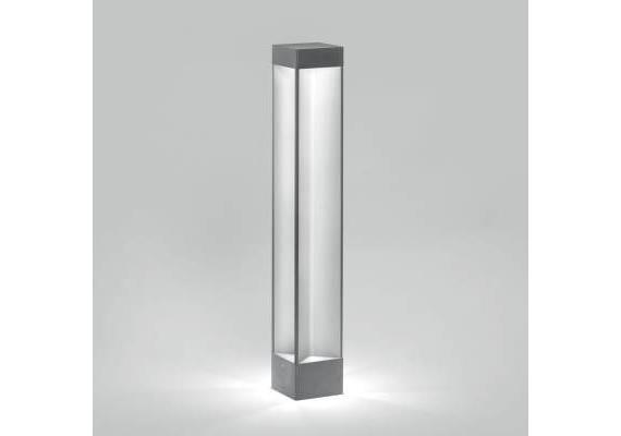 Wegstehleuchte Logo LED 4x1W Alu 230V/ 350mA 5400°K IP65